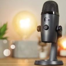 Blue Yeti Nano - микрофон для стриминга, skype, youtube