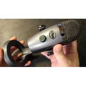 Blue Yeti Nano Shadow Grey USB-микрофон для стриминга, подкаста, студии