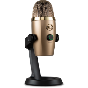 Blue Yeti Nano Cubano Gold USB-микрофон для стриминга, подкаста, студии