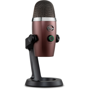 Blue Yeti Nano Red Onyx USB-микрофон для стриминга, подкаста, студии