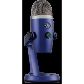 Blue Yeti Nano Vivid Blue USB-микрофон для стриминга, подкаста, студии