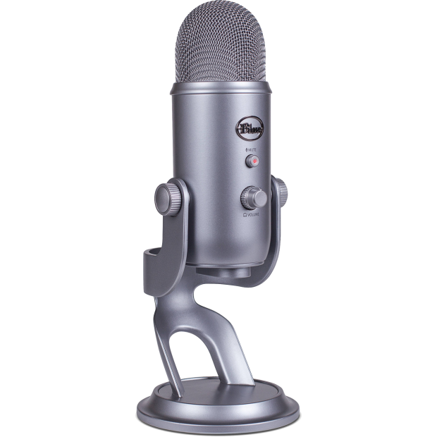 Blue Yeti Cool Grey