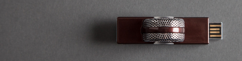 компактный USB микрофон Blue Tiki