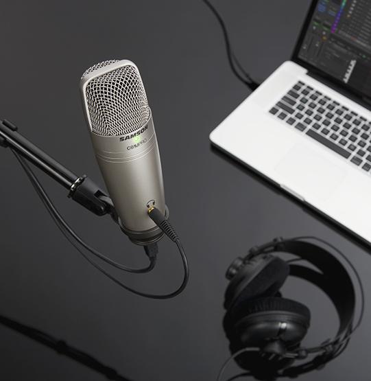 крепление на стойку микрофона Samson C01U PRO USB
