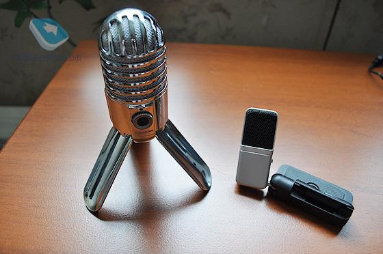 Samson meteor mic и Samson Go Mic